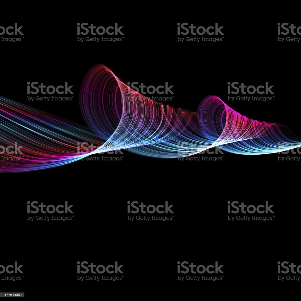abstract colorful spiral royalty-free stock photo