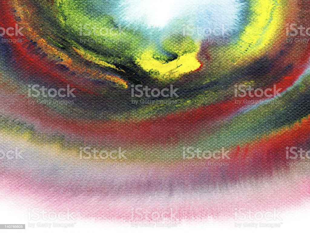 Abstract colorful watercolors. royalty-free stock photo