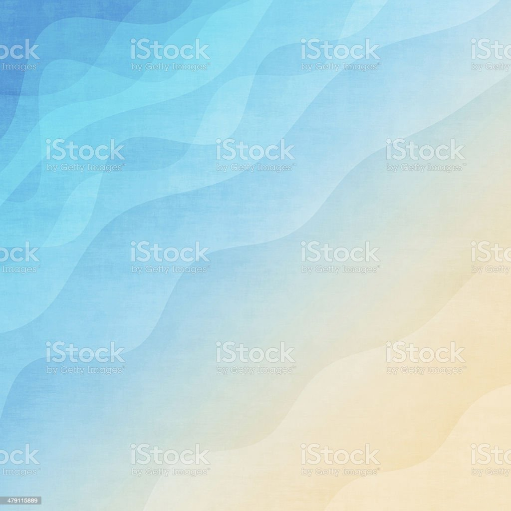 Abstract colorful wave background stock photo