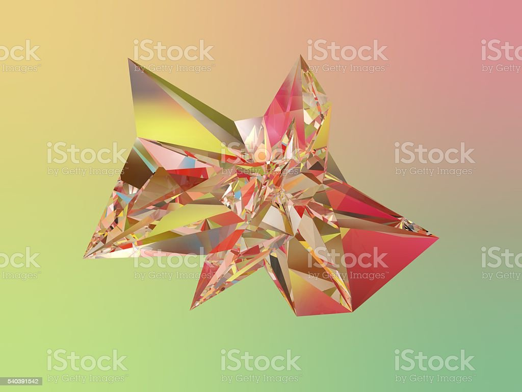 Abstract colorfull glass stock photo