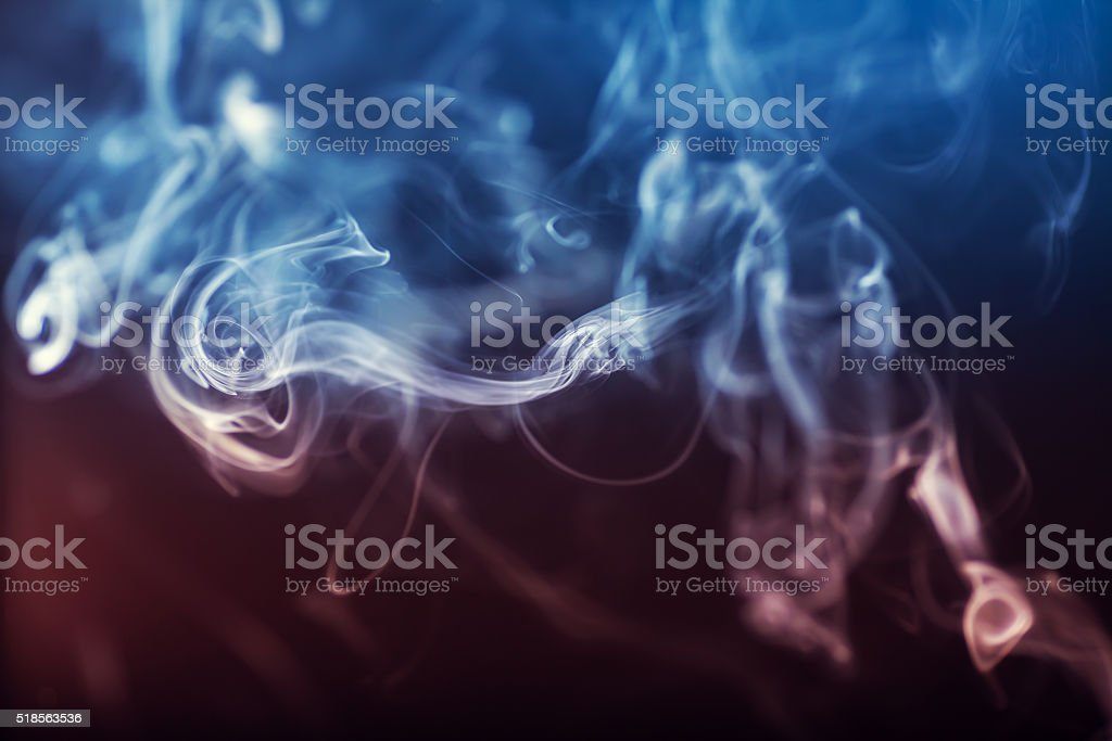 Abstract colorgul Smoke stock photo