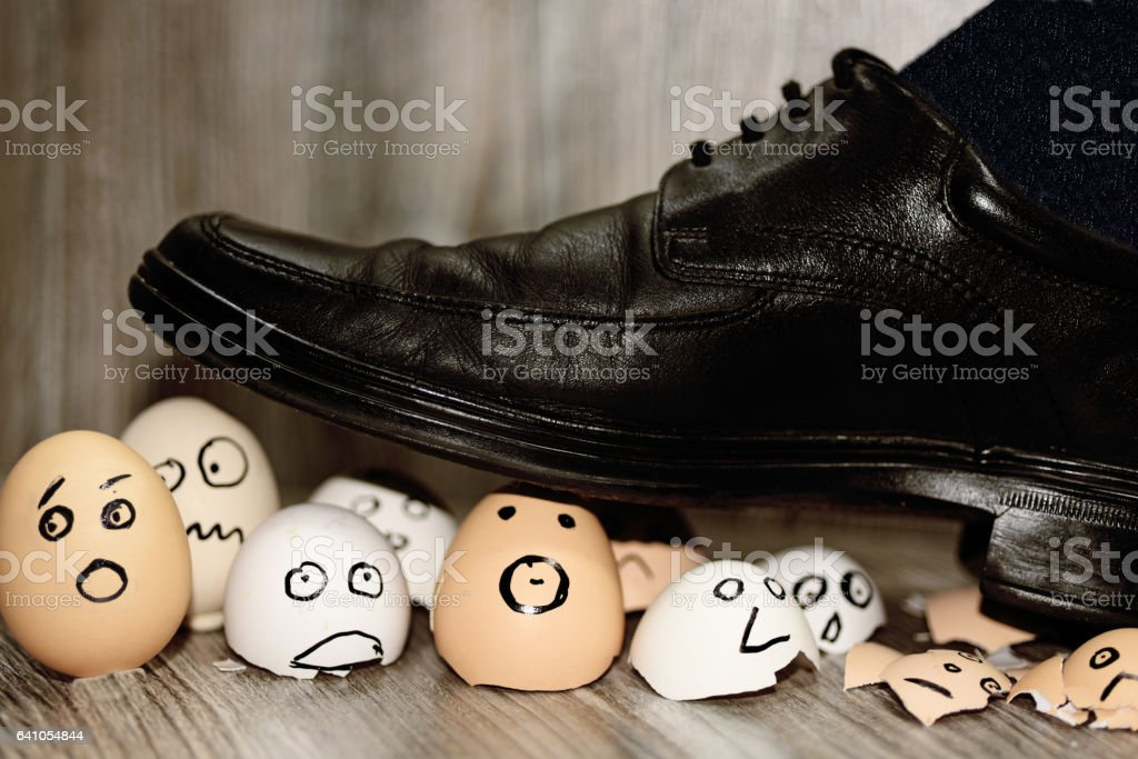 Abstract composition of business leadership. stock photo