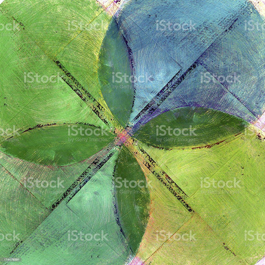 Abstract Composition with Circles royalty-free stock photo