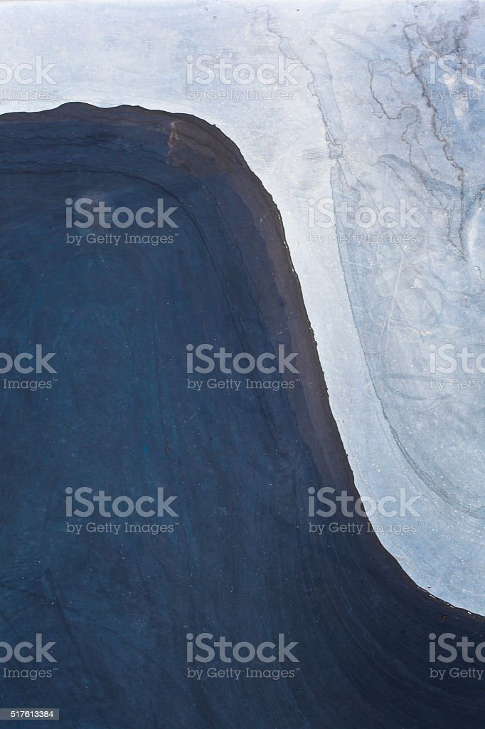Abstract composition with marble stone stock photo