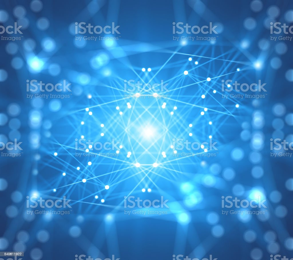 Abstract concept Network optimization stock photo