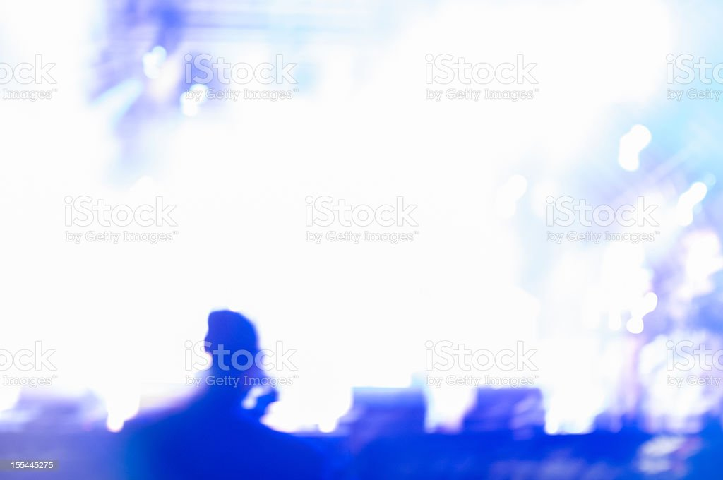 Abstract Concert Background stock photo