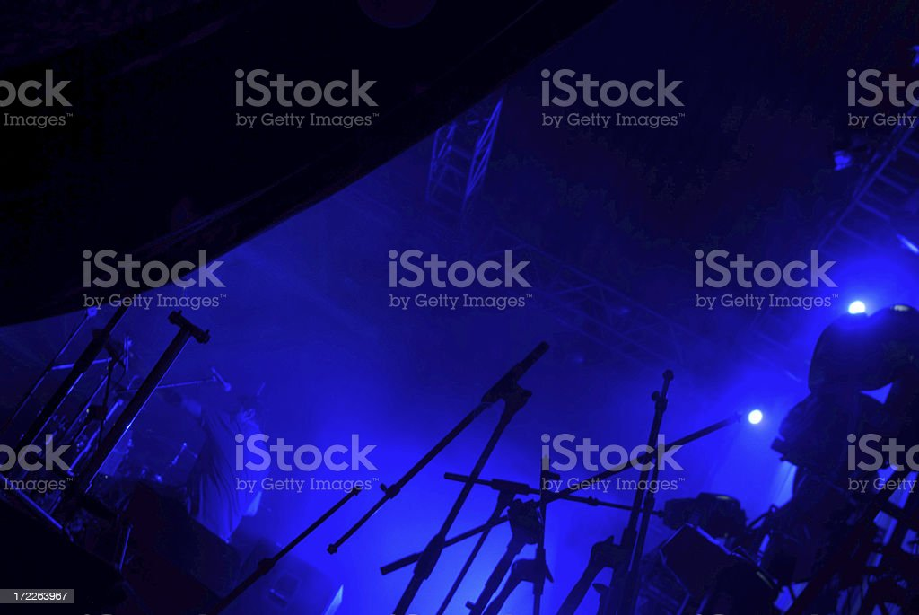 abstract concert lights royalty-free stock photo