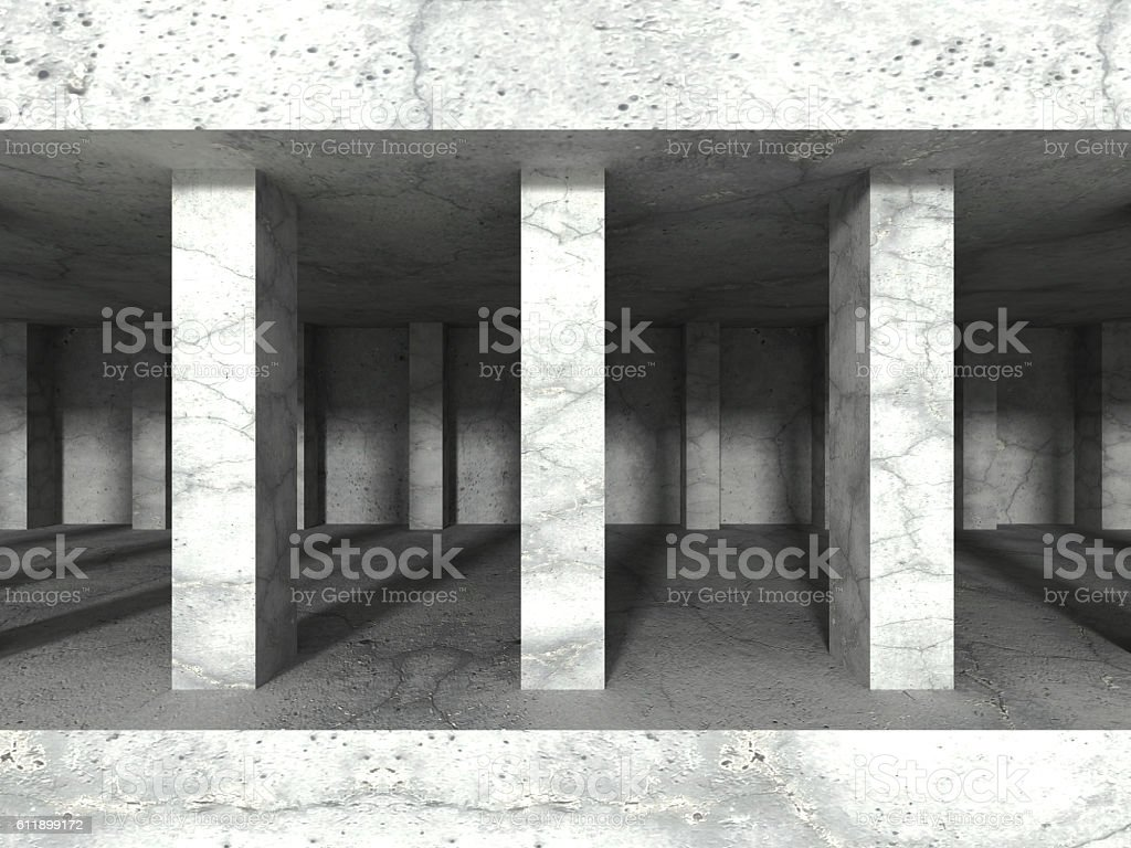 Abstract concrete architecture construction background stock photo