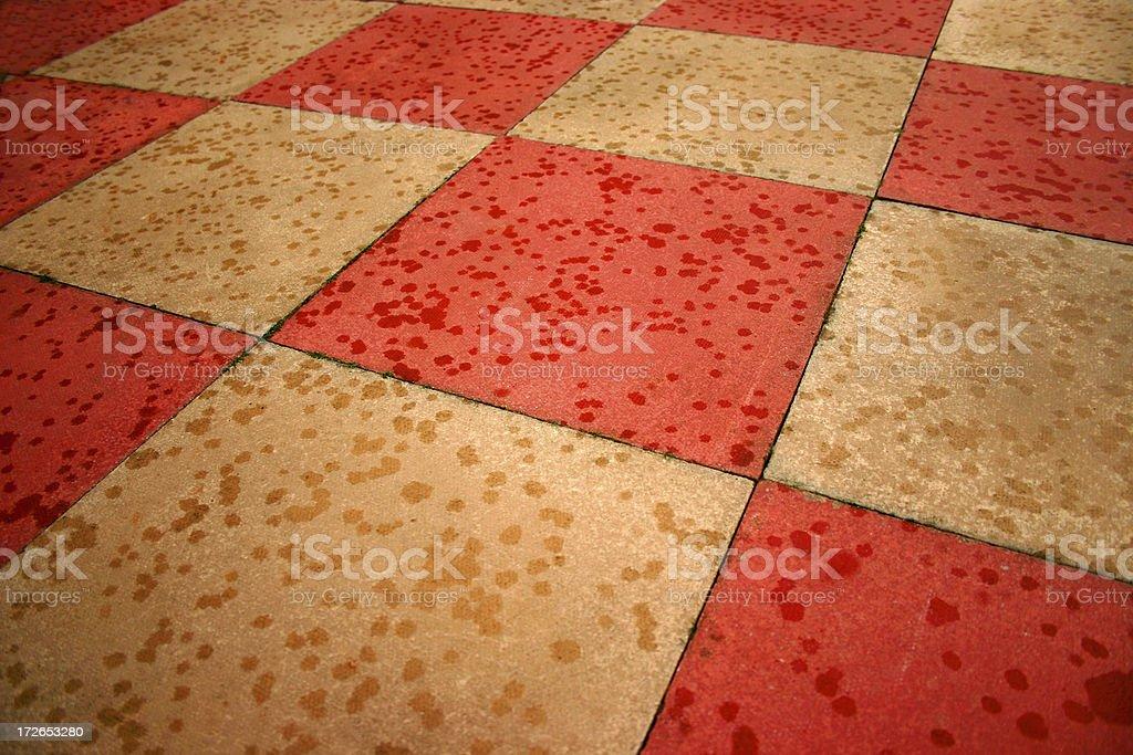 abstract concrete slabs stock photo