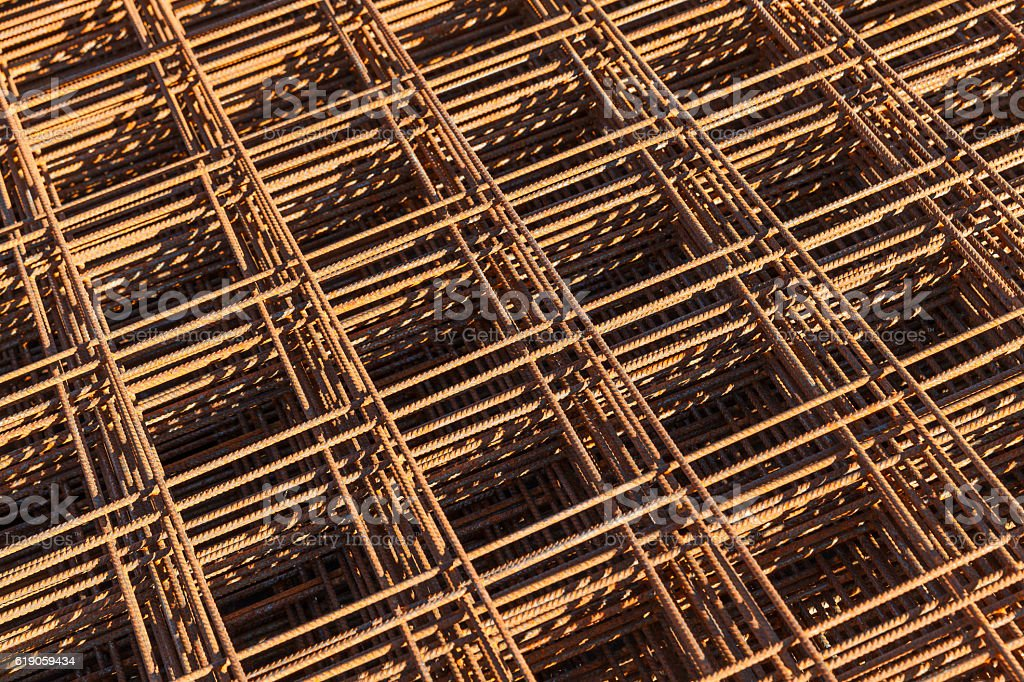 Abstract construction background stock photo