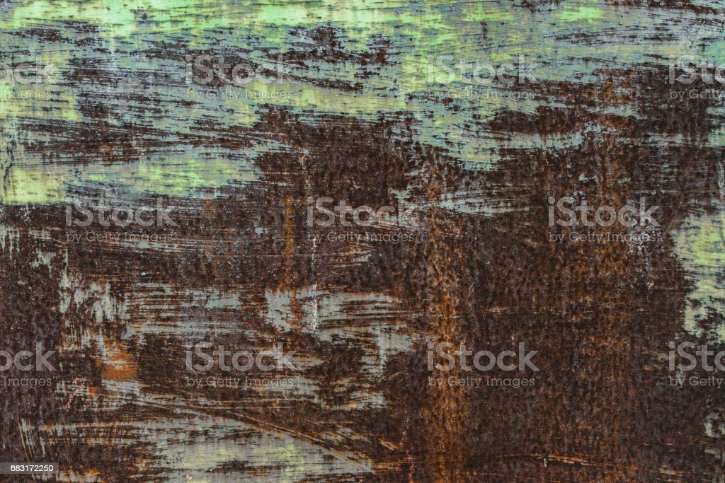 Abstract corroded colorful rusty metal background, rusty metal texture, empty for text stock photo