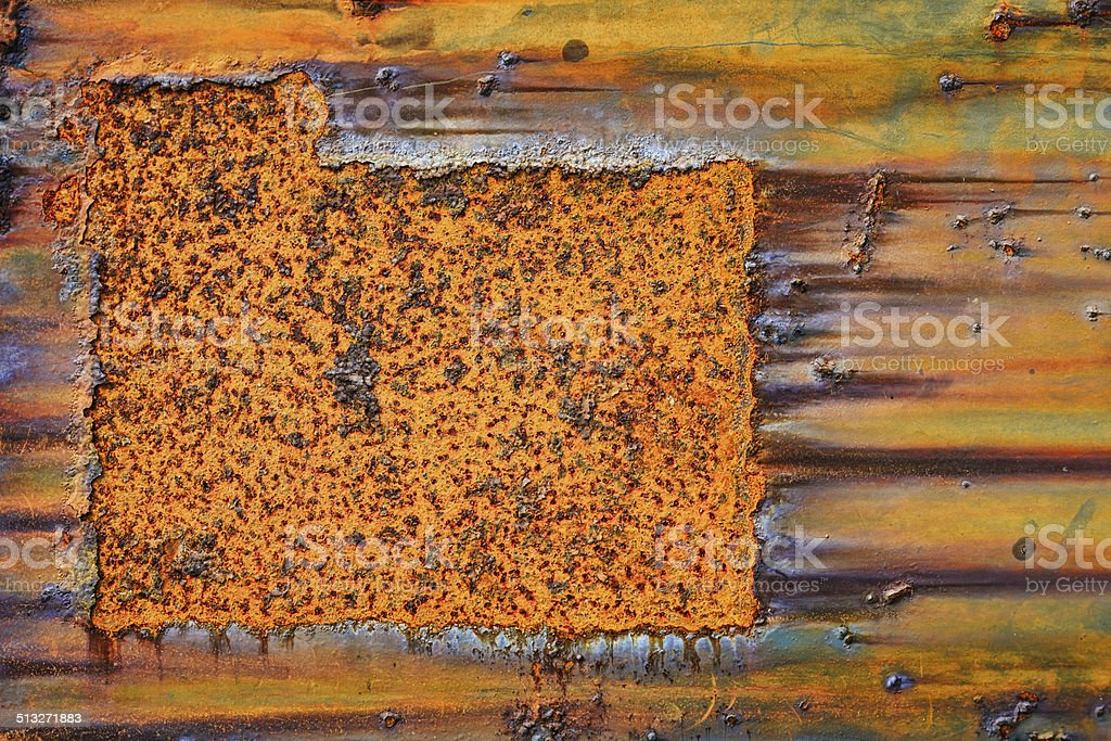 Abstrakte korrodierten bunten Hintergrund grunge Hintergrund Bügeleisen Lizenzfreies stock-foto