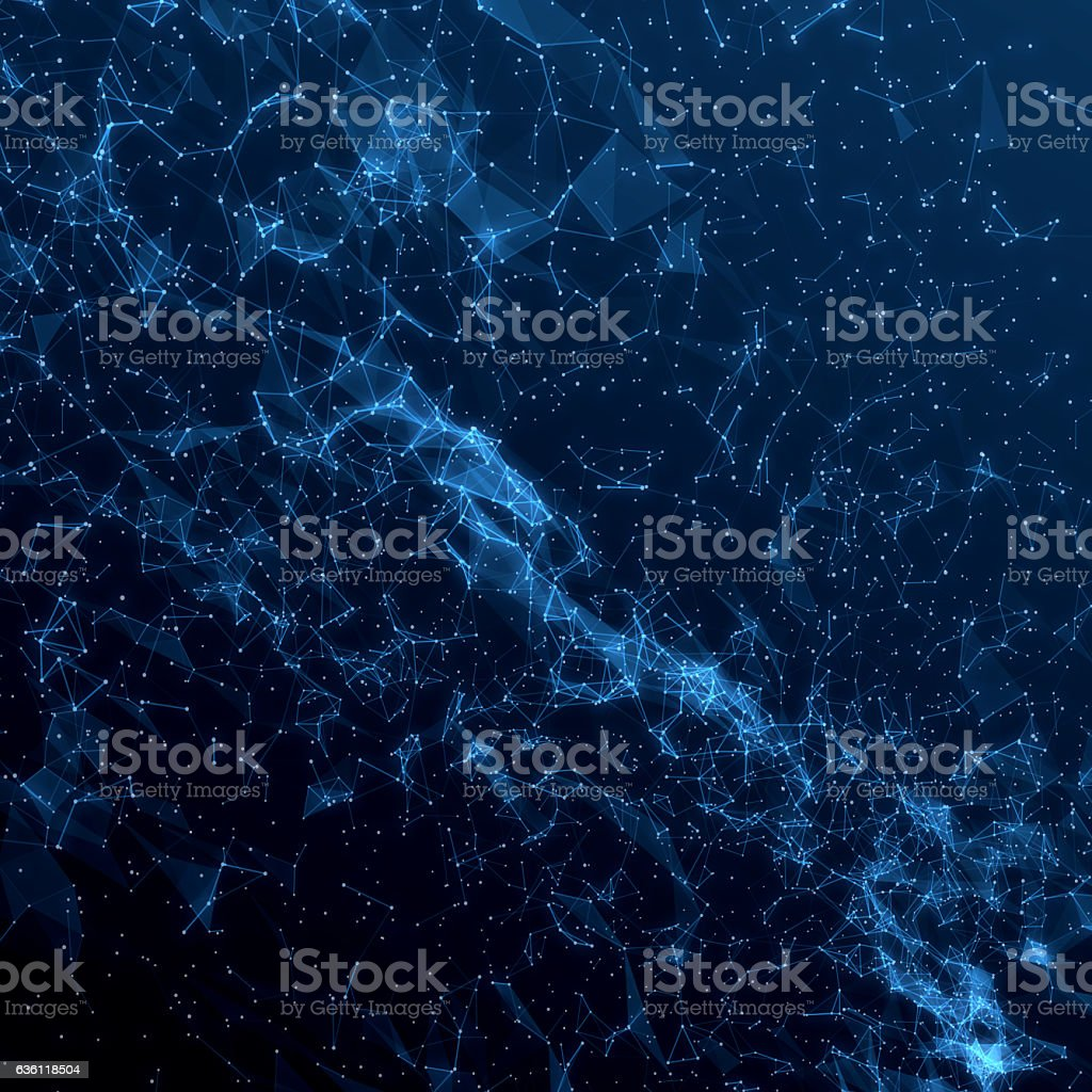 Abstract cosmic background stock photo