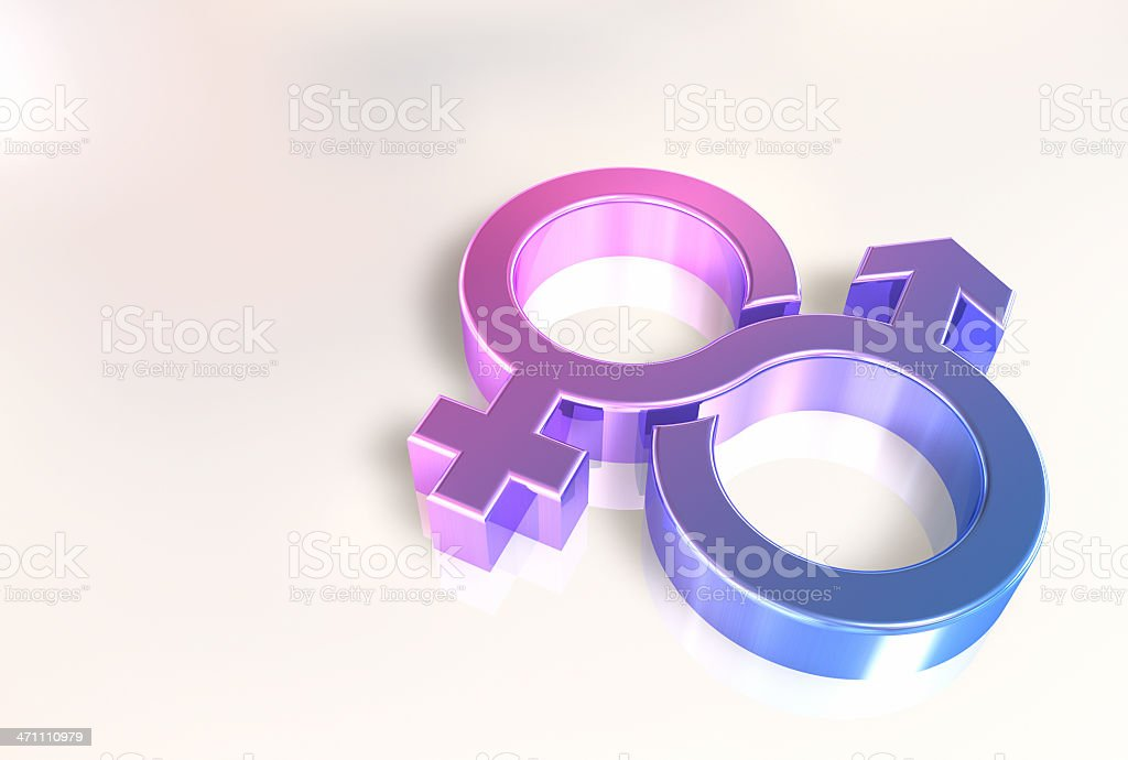 Abstract couple royalty-free stock photo