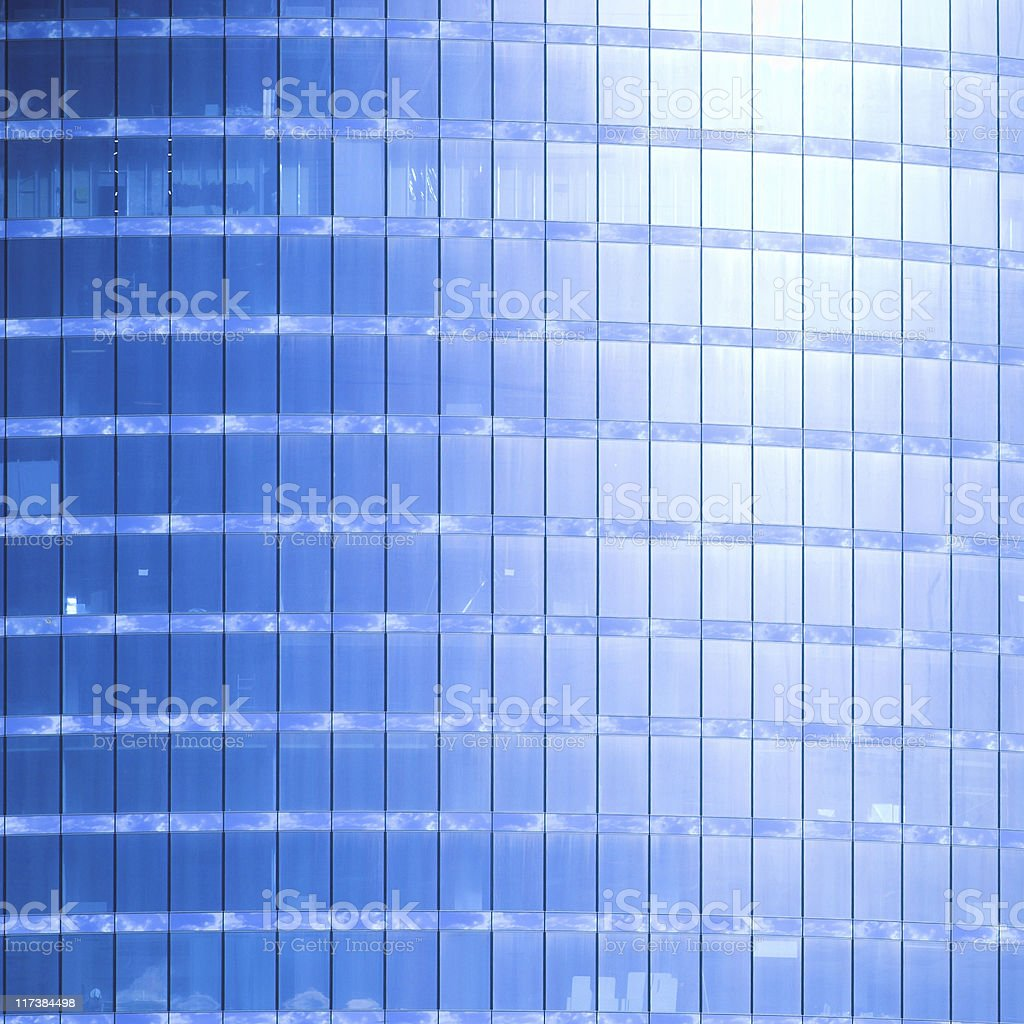 Abstract crop of skyscraper stock photo