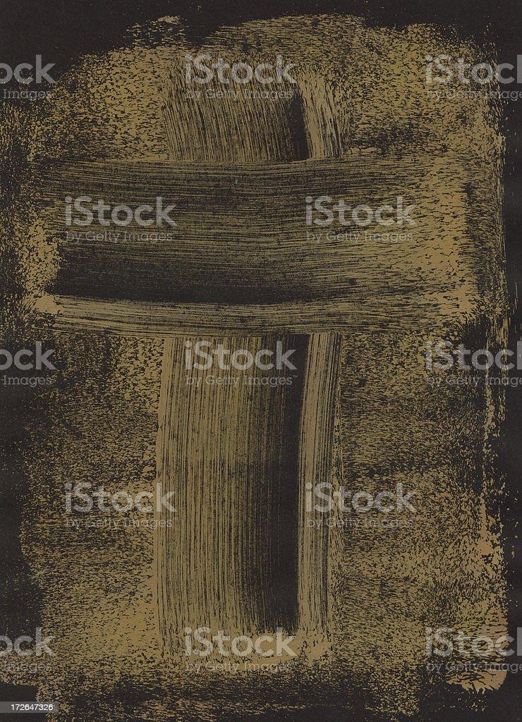 Abstract Cross royalty-free stock photo