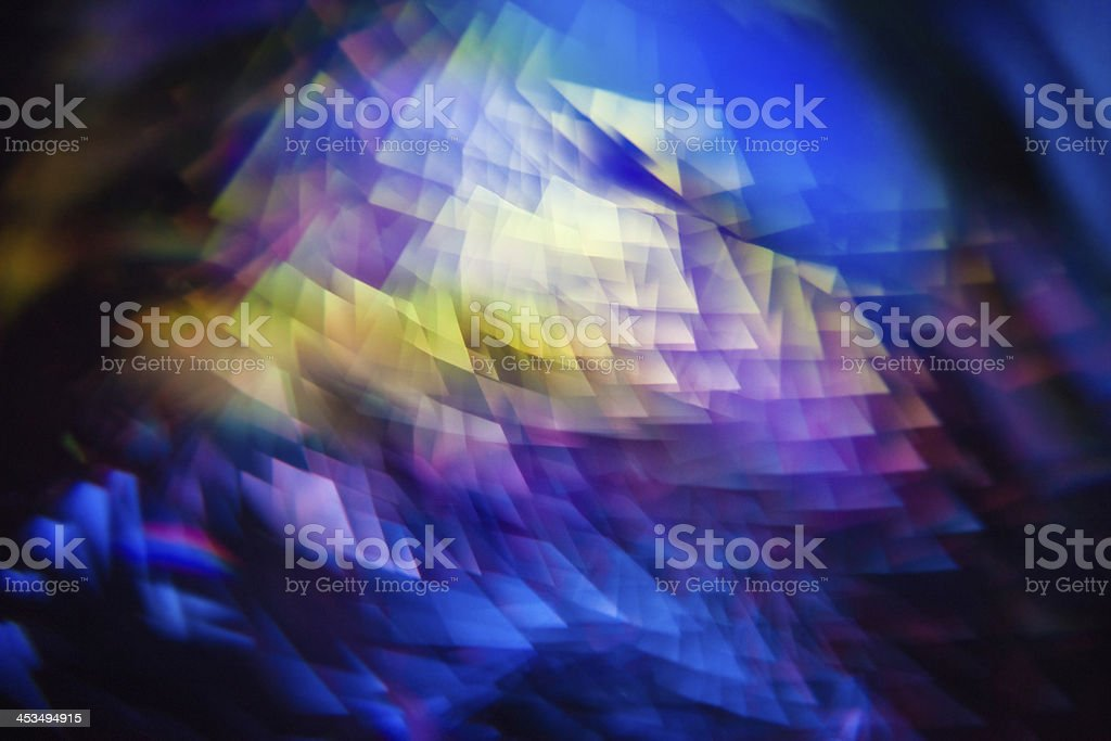 Abstract crystal background royalty-free stock photo