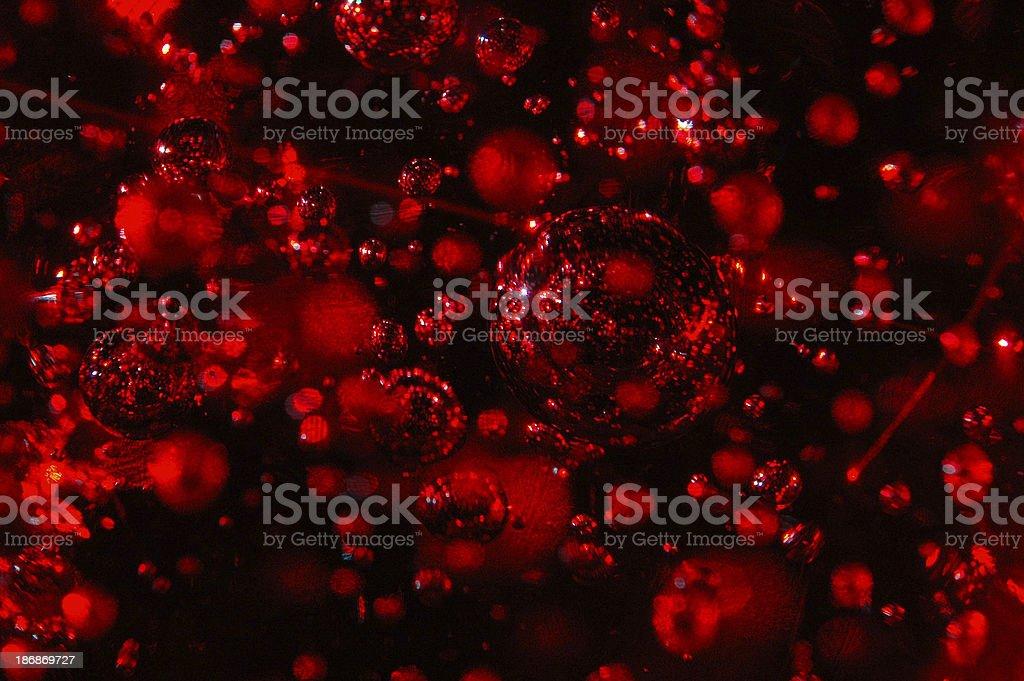Astratto di cristallo sfere Close-up foto stock royalty-free