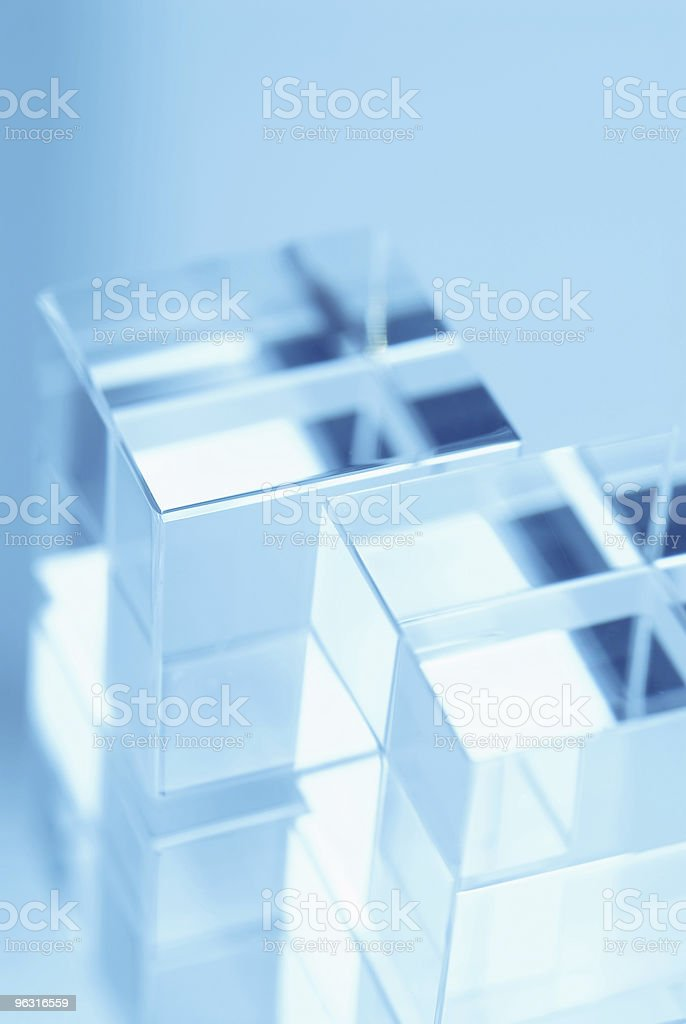 Abstract Cubes stock photo