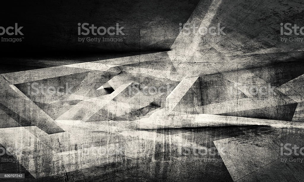 Abstract dark chaotic pattern background stock photo