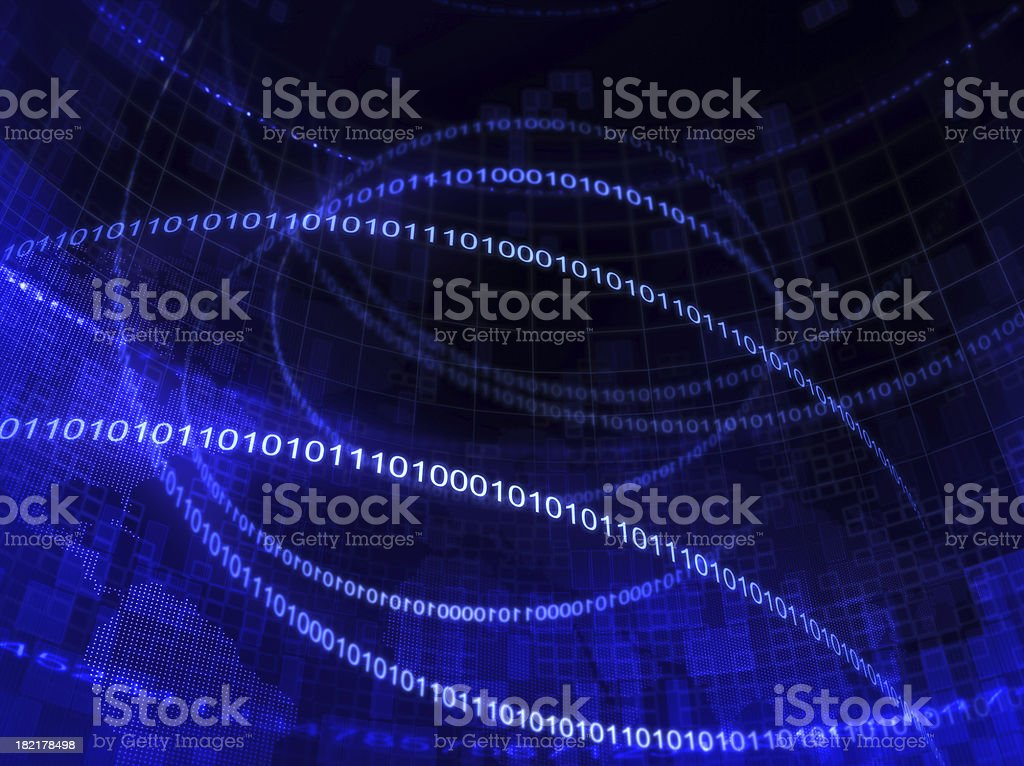 Abstract Data royalty-free stock photo
