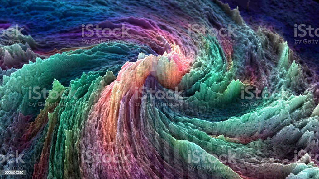 abstract data stock photo