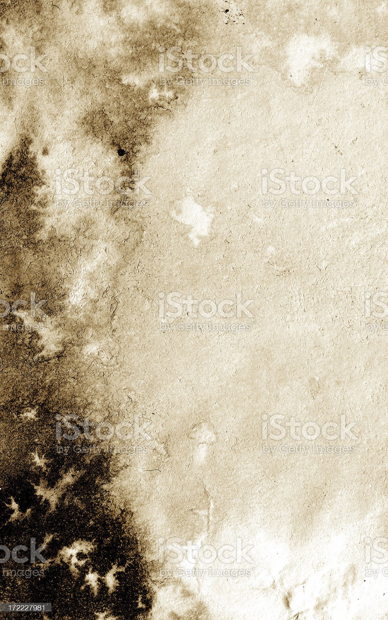 Abstract Decaying Paper royalty-free stock photo