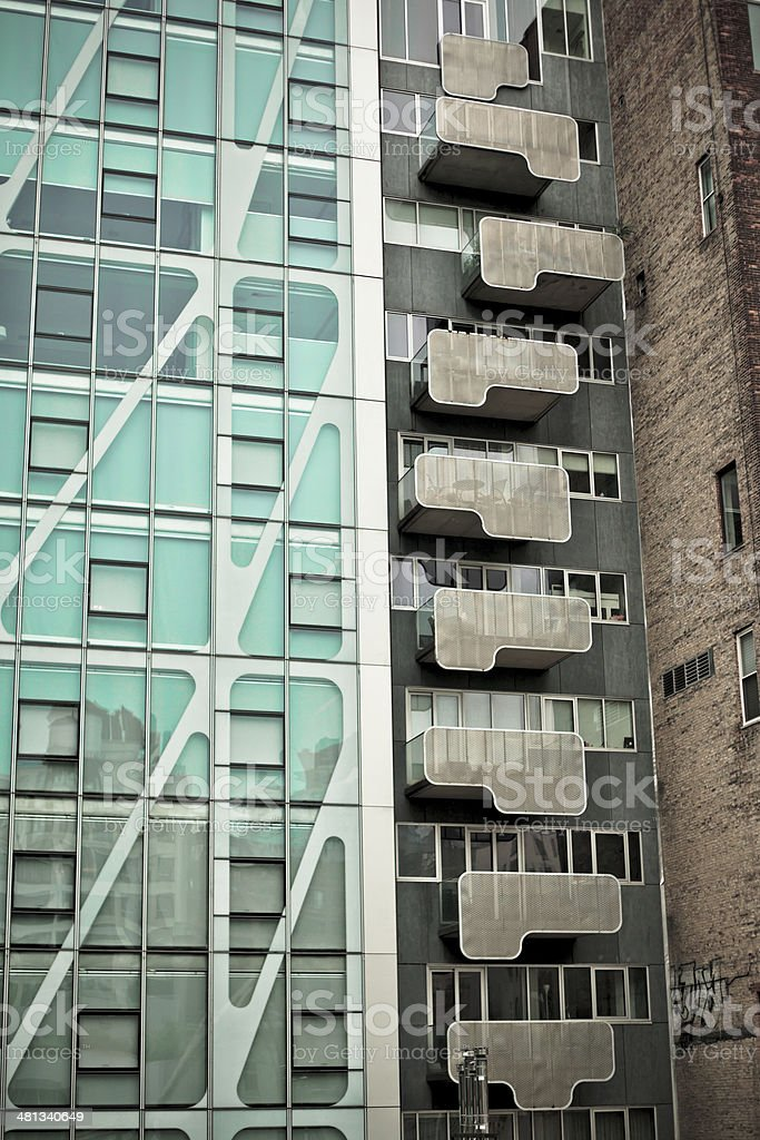 Abstract Decks stock photo