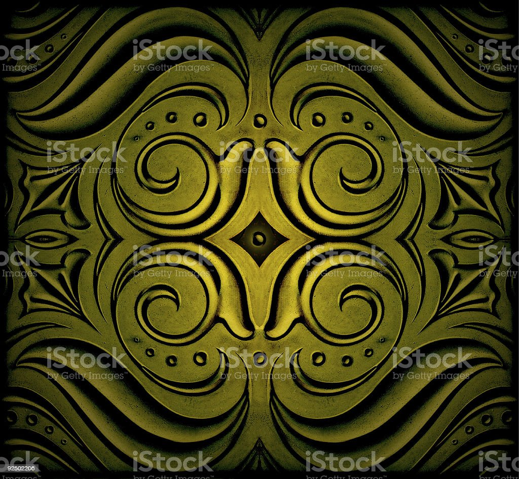 Abstract decorations royalty-free stock photo