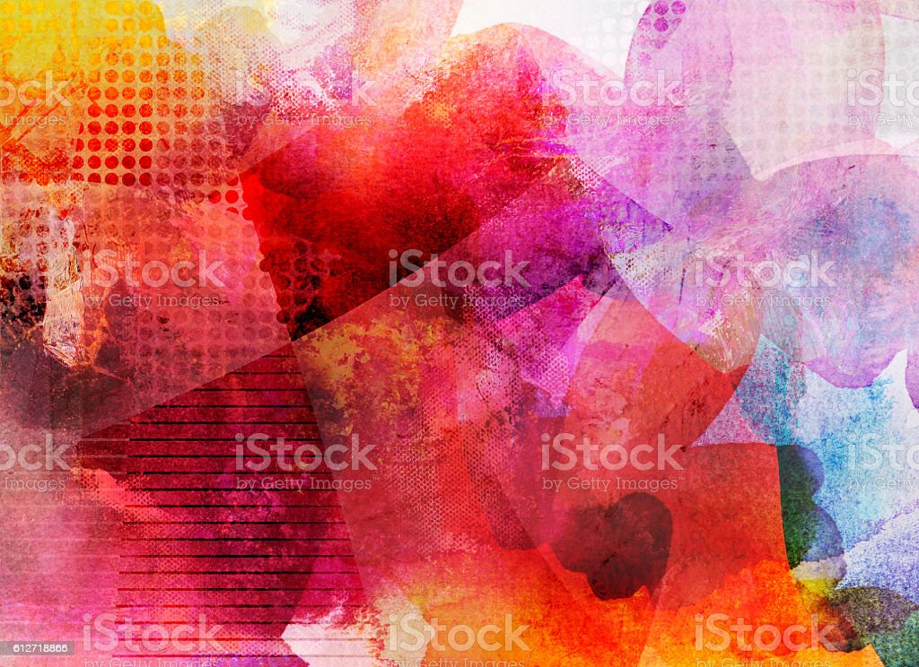 abstract decorative artwork stock photo
