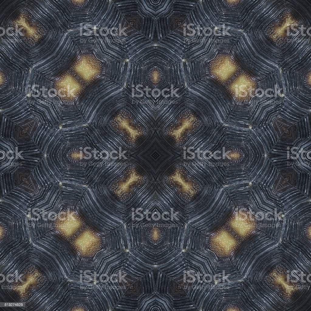 abstract decorative pattern of tortoise shell texture stock photo