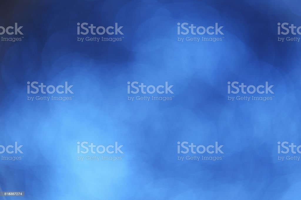 Abstract defocused blue background stock photo