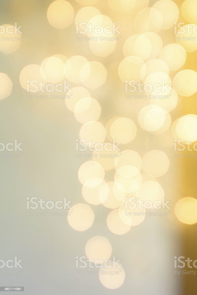 Abstract Defocused Bokeh Lights as festive background or texture stock photo