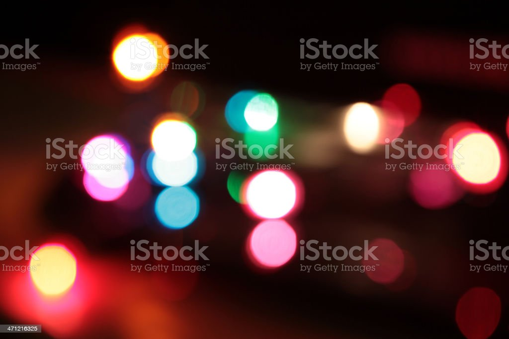 Abstract defocused lights royalty-free stock photo