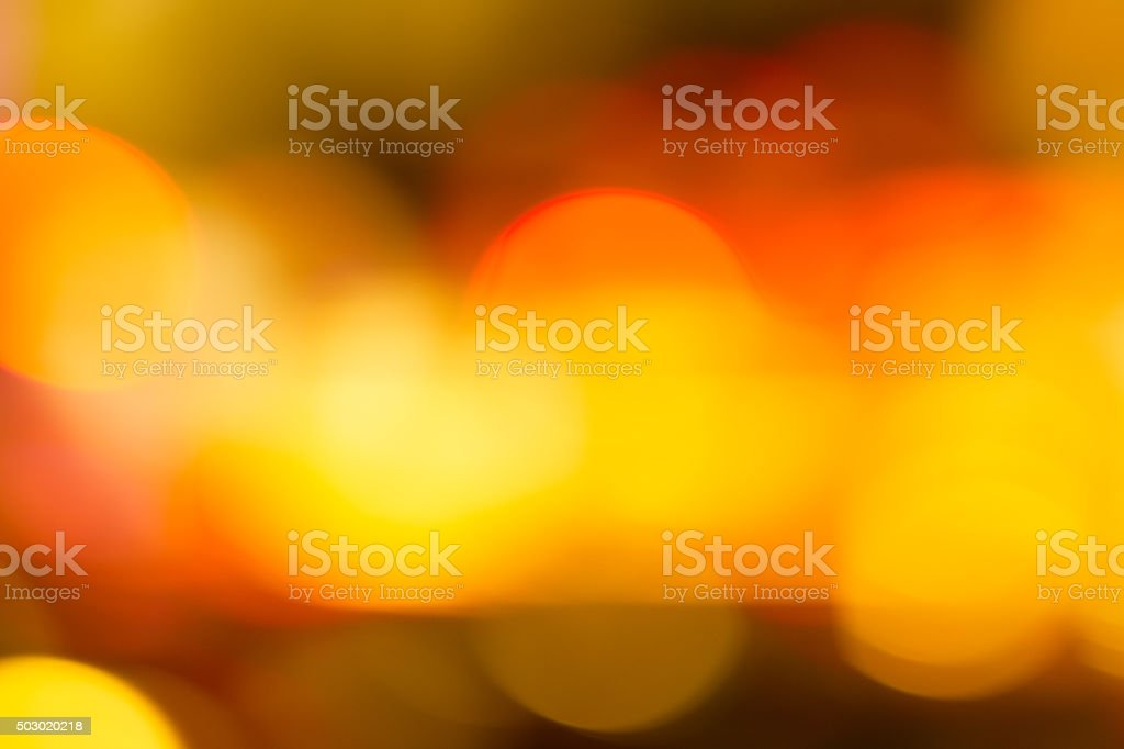 Abstract defocused urban street scene stock photo
