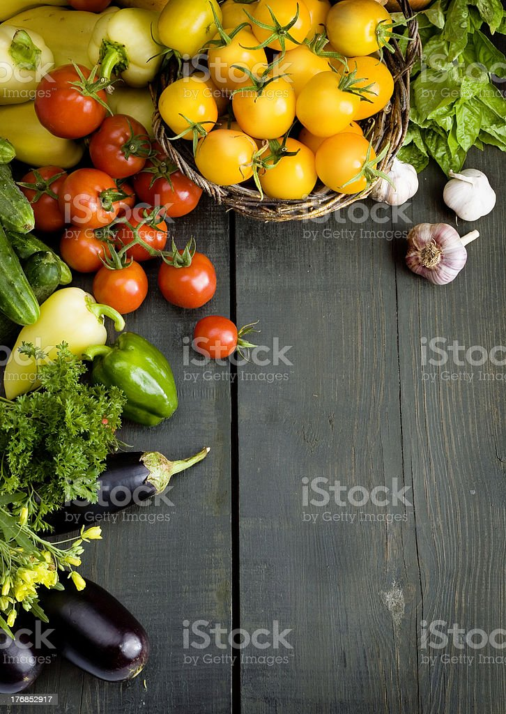 abstract design vegetables background stock photo