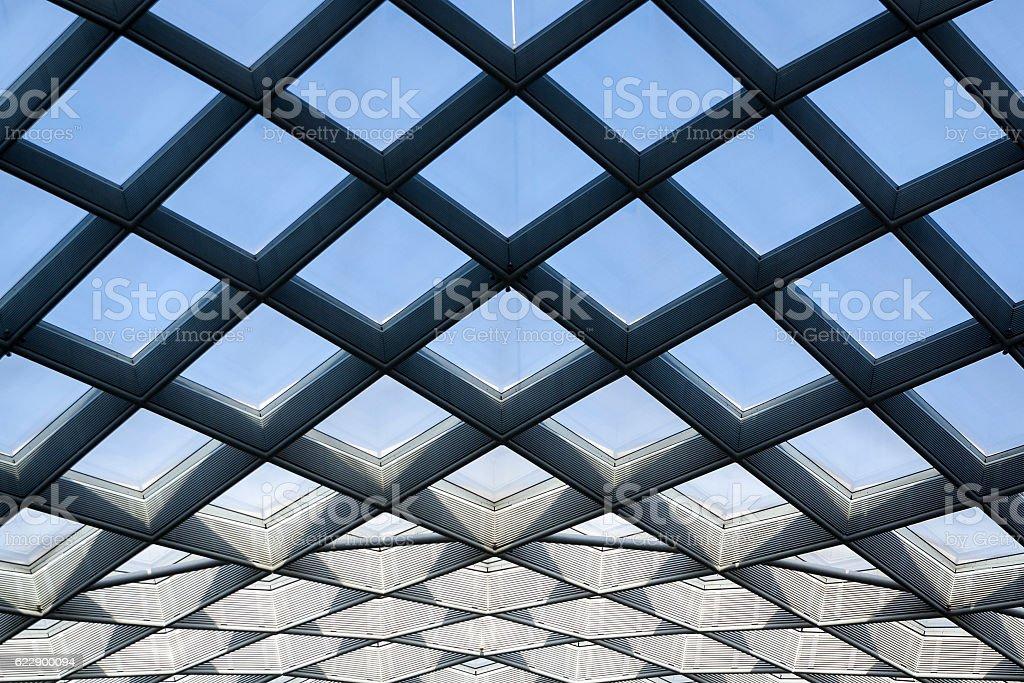 Abstract Diamond Pattern stock photo