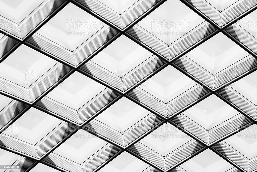 Abstract Diamond Pattern stock photo