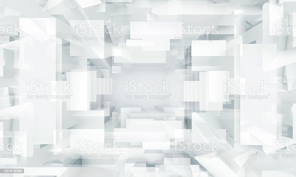 Abstract digital background, geometric pattern stock photo