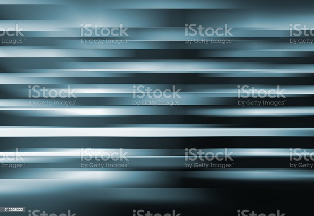Abstract digital background with shining blurred blue lines stock photo