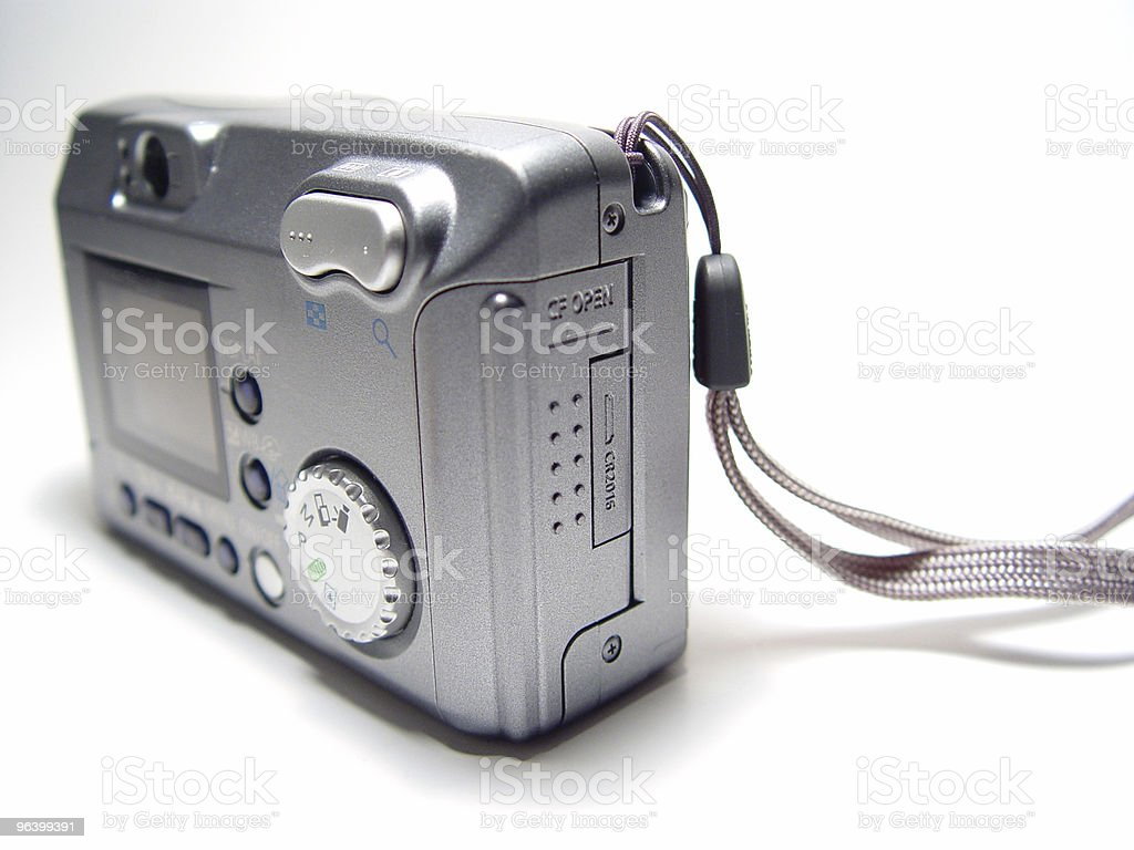 Abstract Digital Camera stock photo