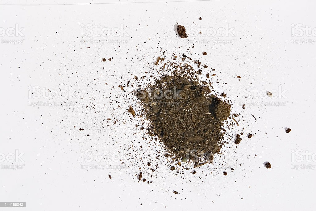 abstract dirt clump royalty-free stock photo