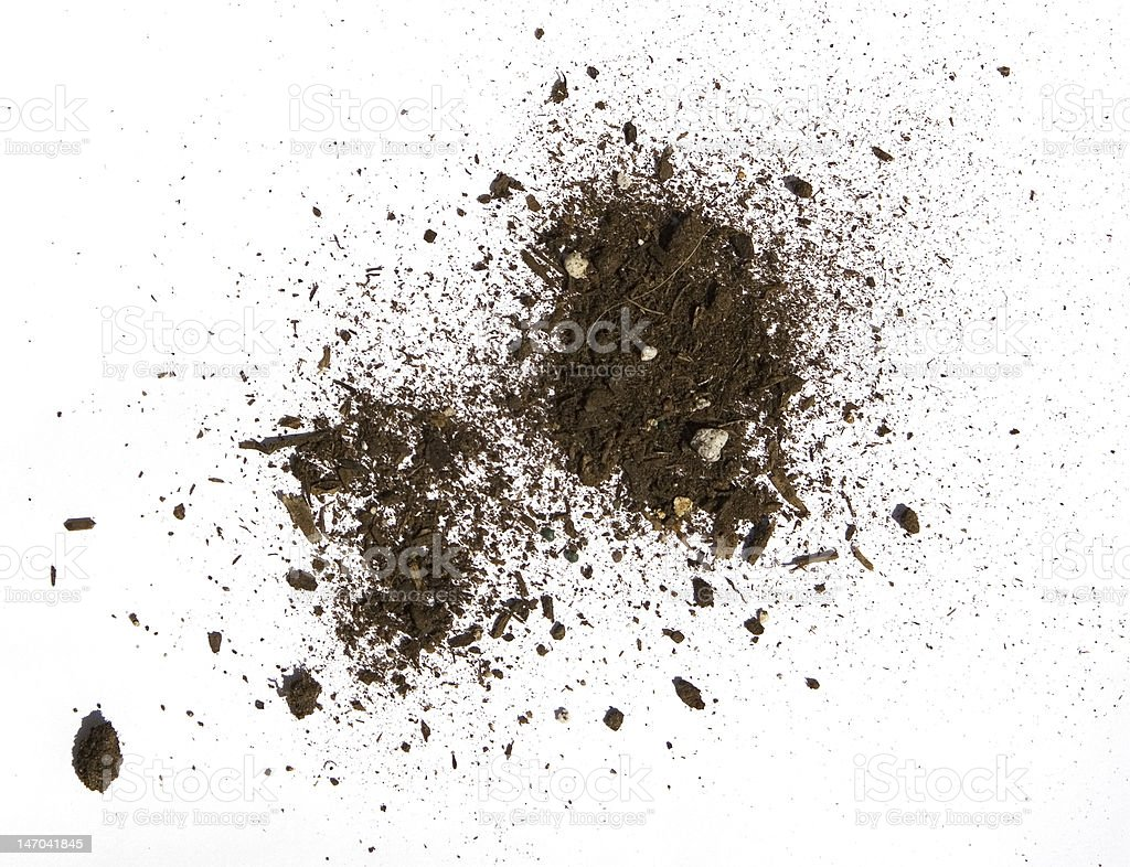 abstract dirt clump stock photo