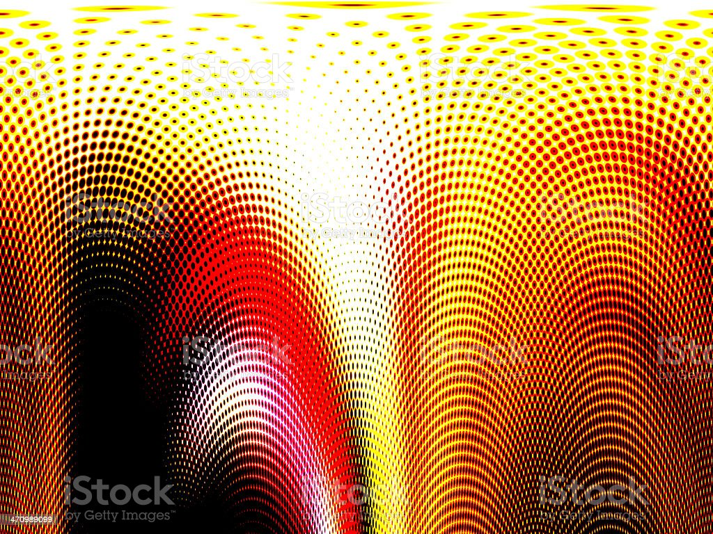 abstract dots stock photo