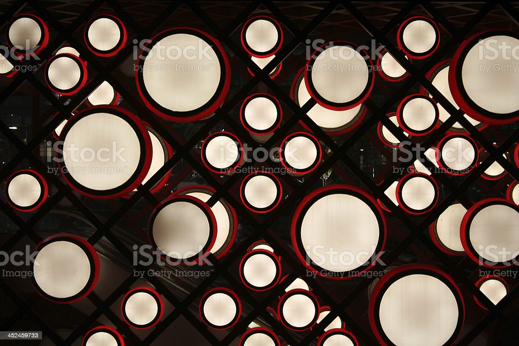 Abstract Drums stock photo