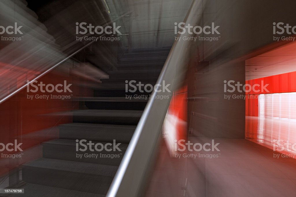 Abstract Dynamic Architecture royalty-free stock photo