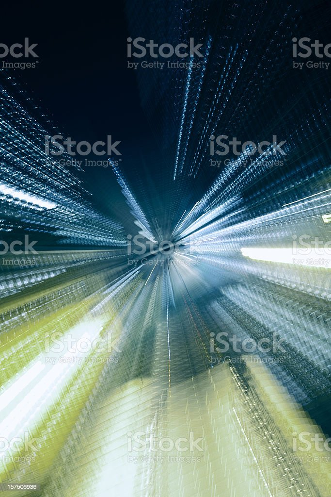Abstract Dynamic Architecture stock photo