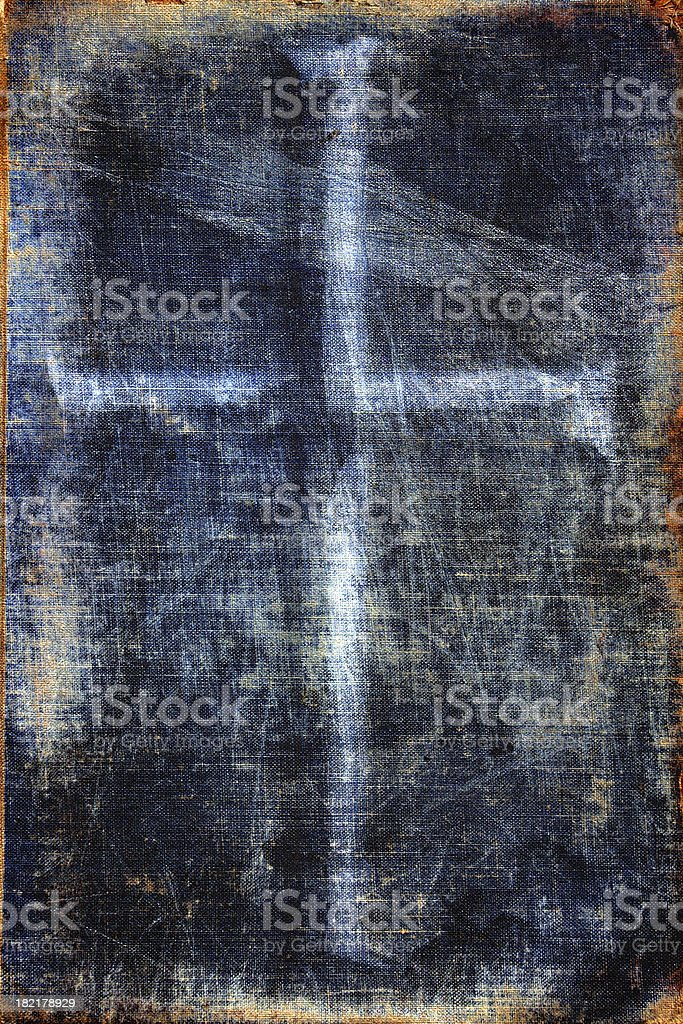 abstract  easter grunge: holy ghost royalty-free stock photo