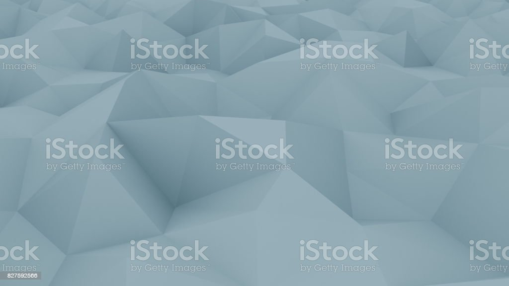 Abstract edge and vertex blue background for reports and presentations. 3D rendering stock photo