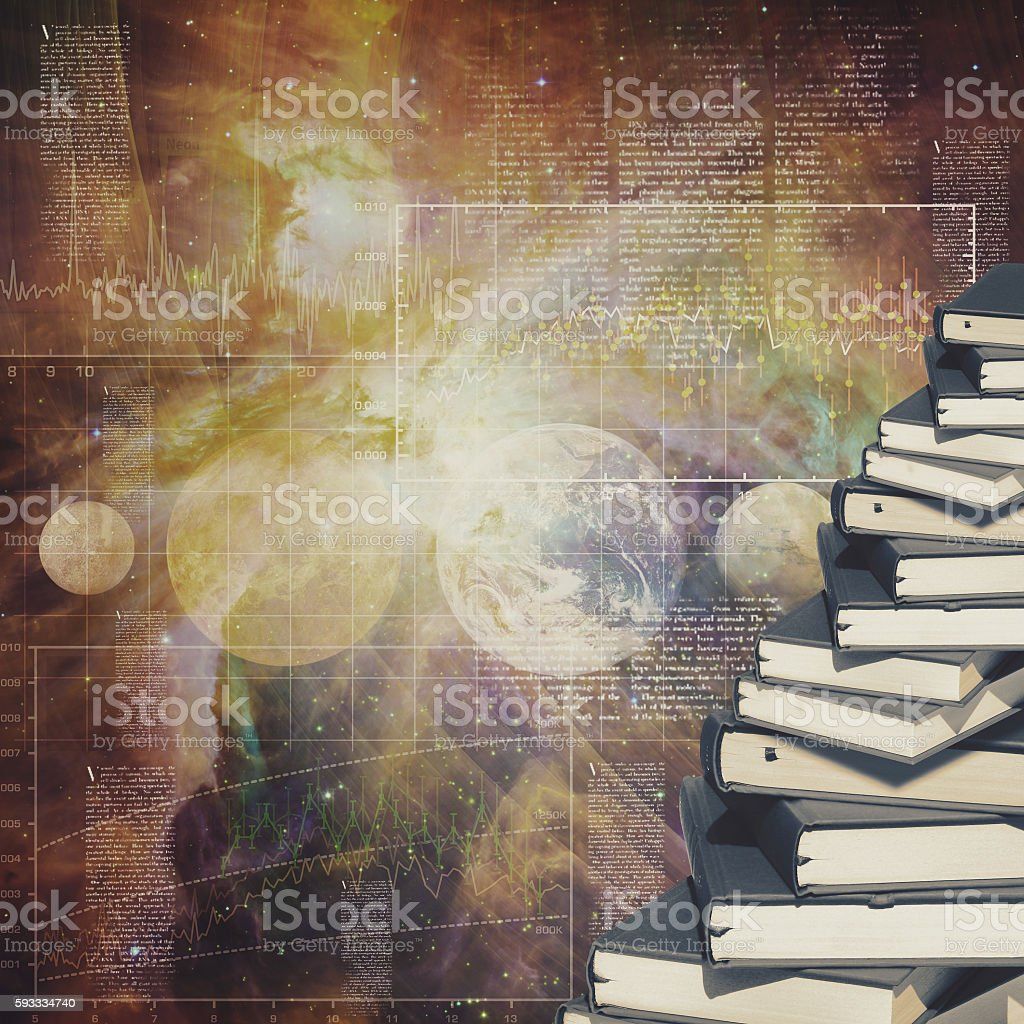 Abstract education and science backgrounds for your design stock photo